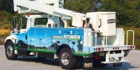 Hybrid Lift Truck Helps Utilities Clean the Air