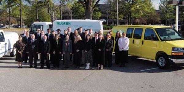 ServiceMaster's staff manages an 18,096-unit fleet, predominantly light- and medium-duty trucks.