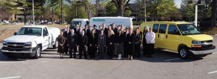 ServiceMaster's staff manages an 18,096-unit fleet, predominantly light- and medium-duty trucks.  -