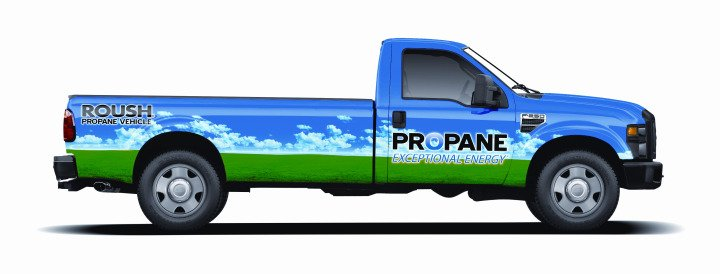 ROUSH Introduces Propane-Powered F-250/F-350