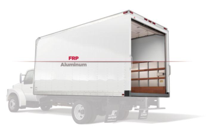 6 Pros & Cons: Aluminum vs  FRP Van Bodies - Upfitting - Work Truck