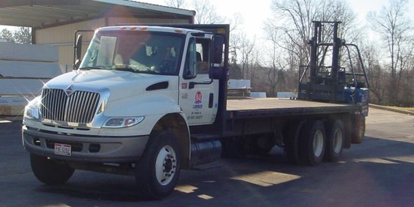 Through a wireless vehicle management system, BLS Trucking can track vehicle locations,...