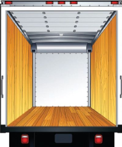 Depending on a truck's application, the basic plywood option is the lowest-cost box interior design. The 3/8-inch plywood protects the aluminum sidewalls.  -