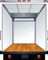 Fiberglass-reinforced plywood interior is all-white and enhances brightness and visibility inside the box. The exterior package works like the basic plywood lining.  -