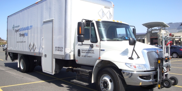 Local delivery fleets use a variet of trucks, from cargo vans to box trucks to trucks with...