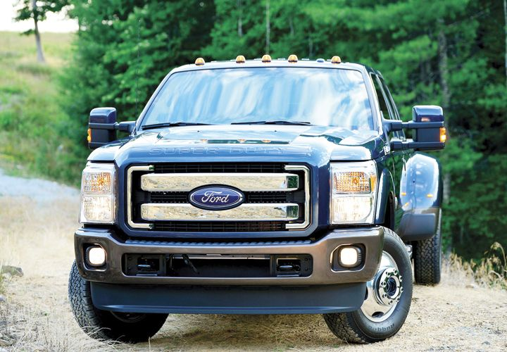 Photo of F-350 courtesy of Ford.