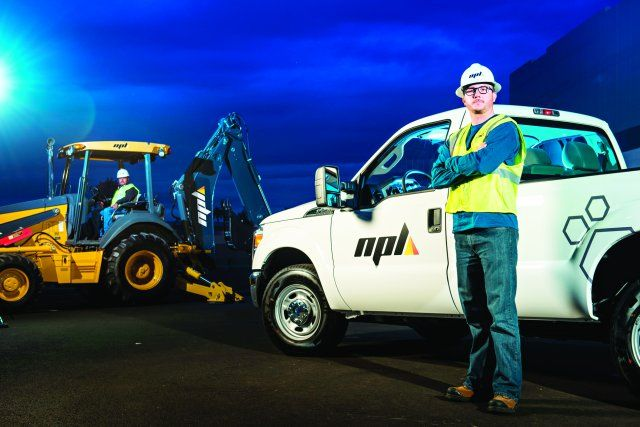 Through idle-reduction, NPL Construction saved more than $180,000 in fuel costs in six months. (PHOTO: NPL Construction) -