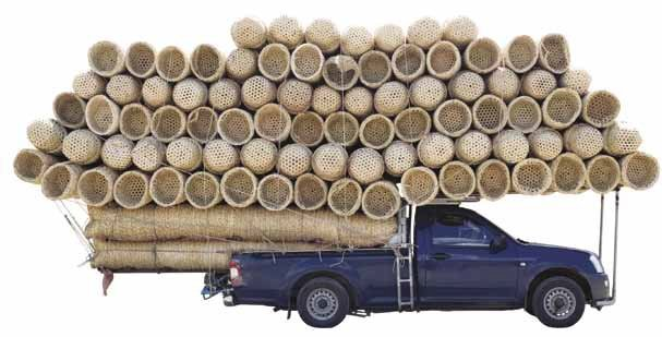While an extreme example of an overloaded truck, fleet managers must be aware of the obvious dangers of carrying too much material.  -