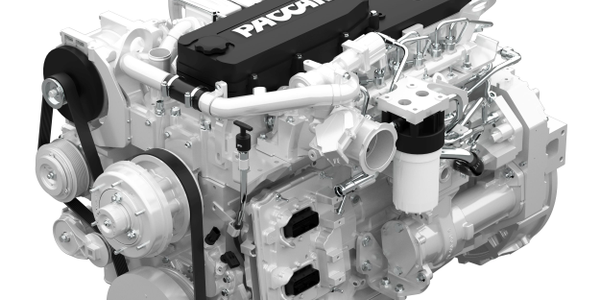 The PACCAR PX-7 engine is utilized on Kenworth medium-duty truck models. (Photo: Kenworth)