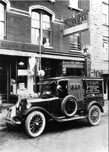 Time Capsule: Circa 1918 Dodge Tire Service Truck