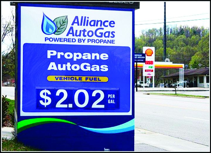 According to the DOE, propane autogas' high octane rating (104 to 112, compared to 87 to 92 for gasoline) and its cleaner-burning characteristics result in documented engine life up to two times that of gasoline engines. -