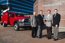 Ram Chassis Cab Named 2011 Medium-Duty Truck of the Year
