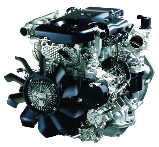 The 3.0L 4JJ1-TC diesel engine powers the Isuzu Reach. -