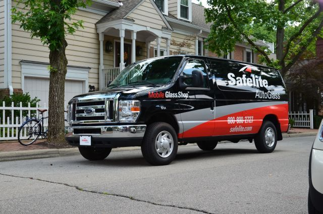 The Safelite AutoGlass fleet operates nationwide to repair or replace vehicle windshields.