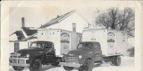 Time Capsule: Circa 1950s Milk Trucks