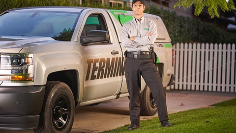 Terminix operates a fleet of approximately 9,500 vehicles, of which 75% are light-duty trucks...