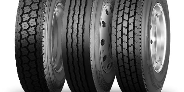 Truck tires courtesy of BFGoodrich