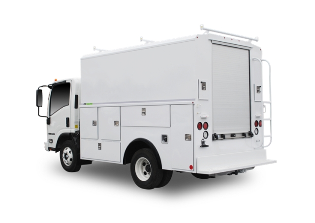 Use of lightweight materials in aftermarket body and equipment has become more prevalent. (PHOTO: Reading Truck Body) -
