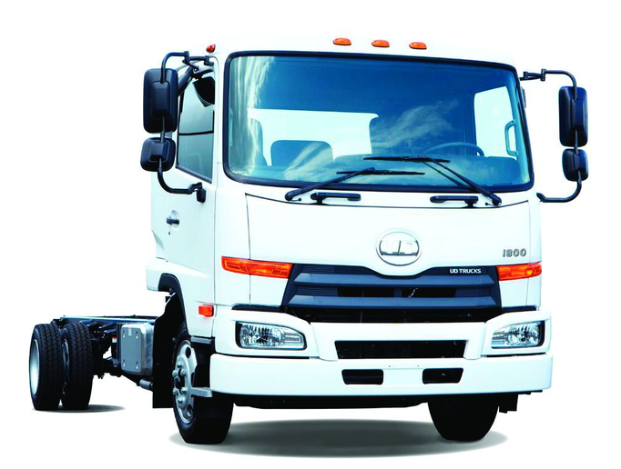 UD Trucks offers seven models, ranging from 17,995-lbs. GVWR to 32,900-lbs. GVWR. -