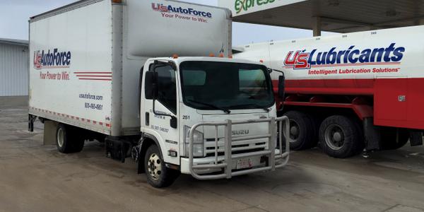 U.S. AutoForce operates a fleet of more than 390 vehicles, including medium-duty trucks. (PHOTO:...