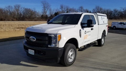 Vertiv operates a number of vehicles, but is currently under contract with Ford for all of its...
