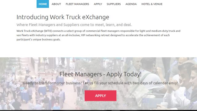 The entire event is designed to help fleet managers exchange information, explore ideas, extend their network, and expand options. -