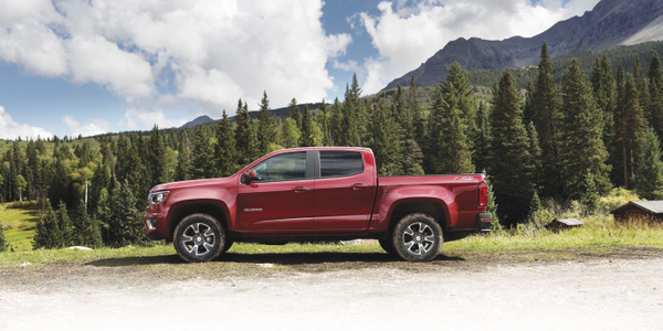 The 2015-MY Colorado will be available in three configurations. The chassis for the North...