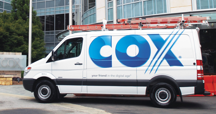 Cox has invested in the Mercedes-Benz Sprinter, and, over the past year, replaced more than 1,500 Chevrolet Express and Ford E-Series models with the diesel van. (PHOTO: Cox Enterprises) -