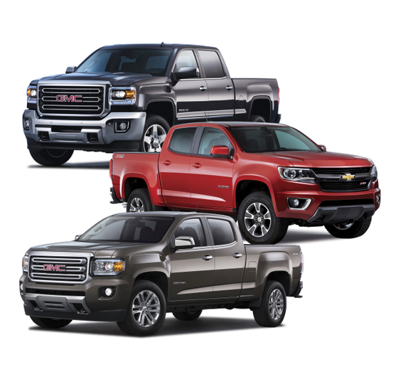 GM's all-new three-truck strategy was launched to offer each customer the right truck for their specific needs, according to the automaker. (PHOTO: GM) -
