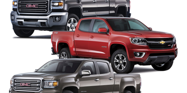 GM's all-new three-truck strategy was launched to offer each customer the right truck for their...