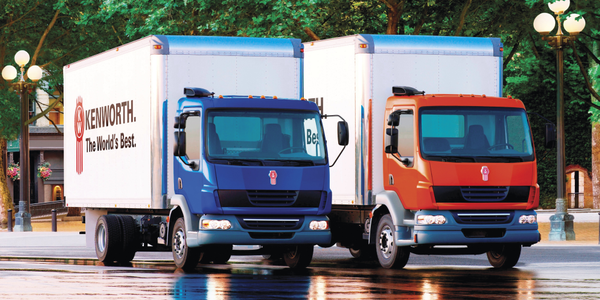 The Class 6 K270 and Class 7 K370 are cabover trucks used for pickup and delivery, towing,...