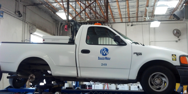 Photos courtesy of Rancho California Water District.RCWD's fleet mostly consists of light- and...