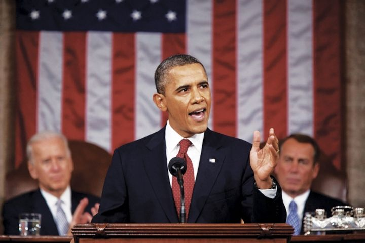 The Obama Adminstration is calling for a 10- to 20-percent reduction in fuel consumption and GHG emissions, depending on vehicle type, beginning in model year 2014 and running through 2018. During President Barack Obama's Jan, 28, 2014, State of the Union address transportation and energy security were themes. (PHOTO: Official White House Photo by Pete Souza) -