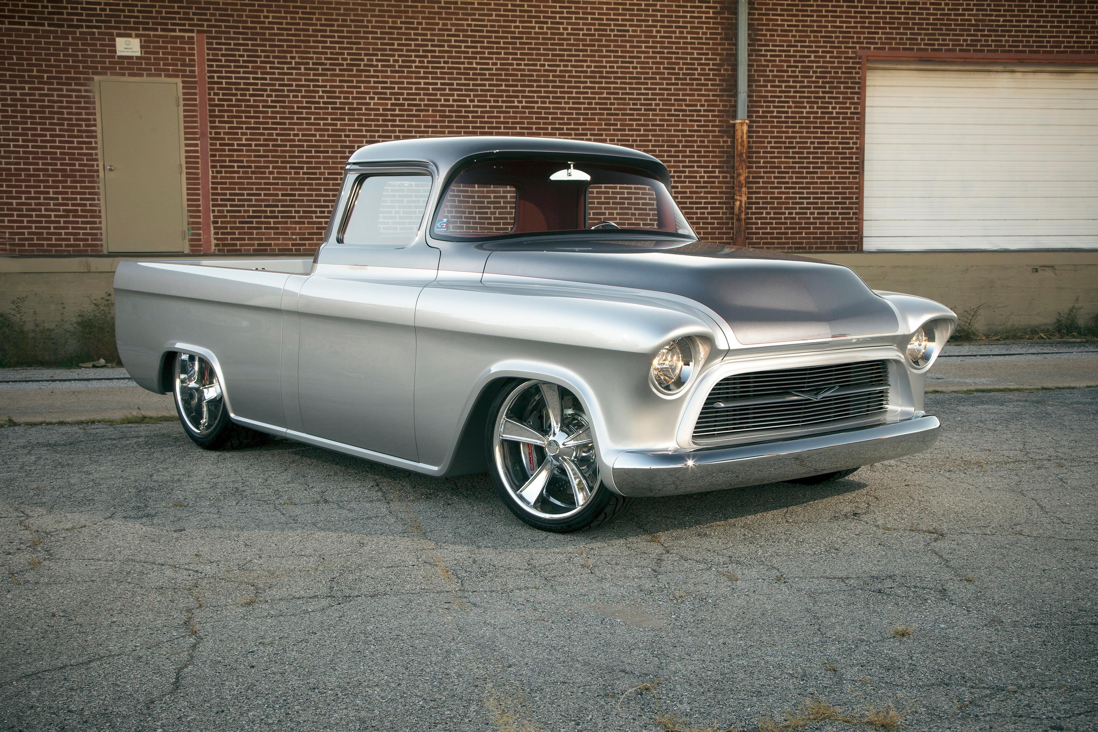 Chevrolet Highlights Six-Figure Vintage Trucks