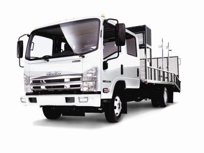 Isuzu Truck Introduces First Low-Cab Forward, Gas-Powered Crew Cab