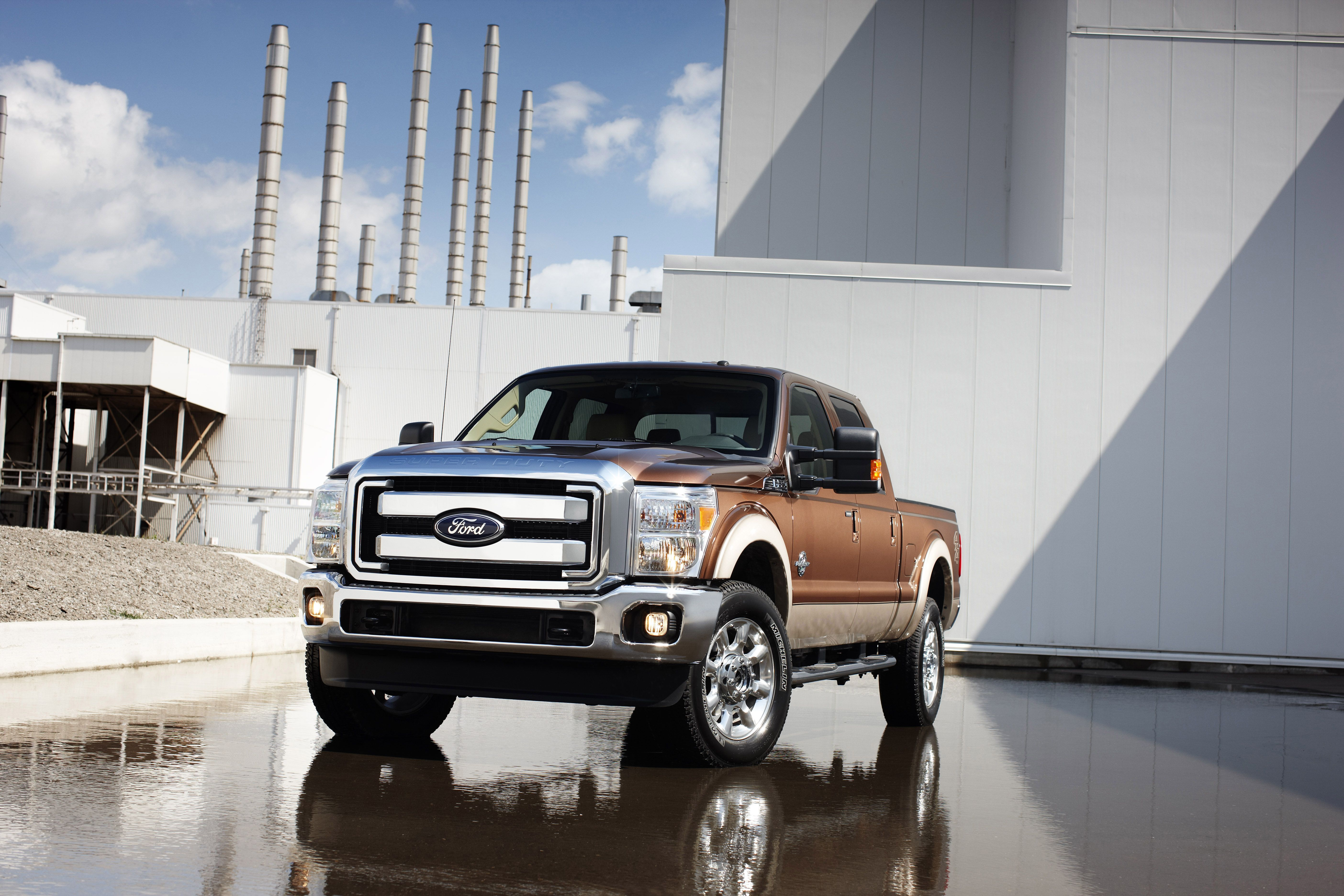 All-New 2012 Ford Super Duty F-650 Gas Model Offered