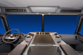 Peterbilt Unveils All-New Interior for the Low-Cab Forward Model 320