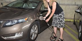 College of New Jersey, PSE&G Unveil New EV Charging System