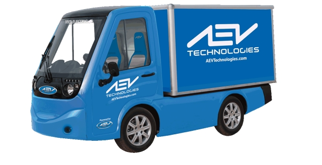 AEV Technologies Unveils Electric Truck