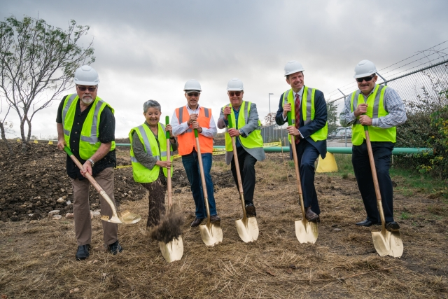 AMP Americas Breaks Ground on 20th CNG Fueling Station