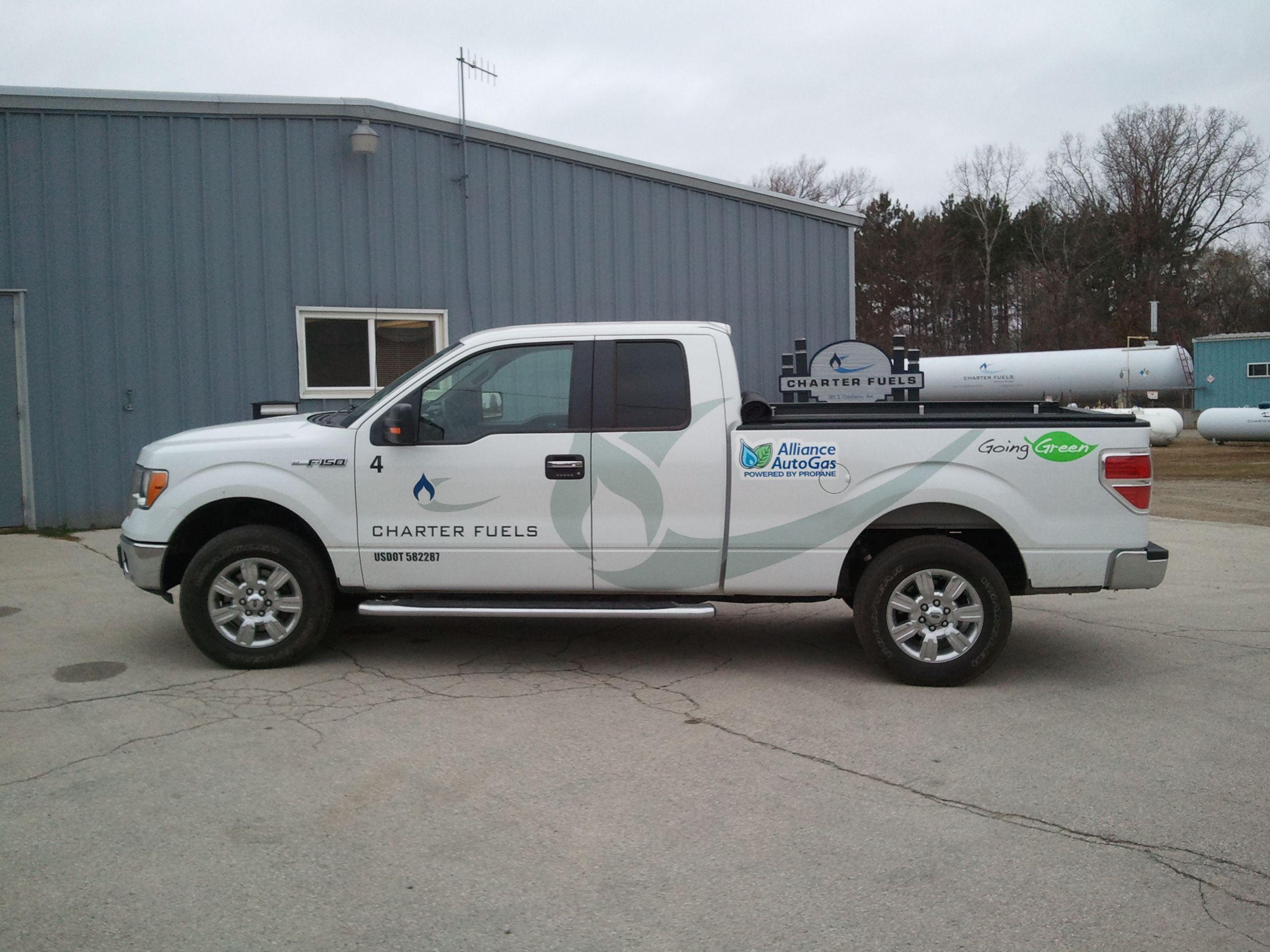 Wisconsin Charter Fuels Utilizes Propane Autogas F-150