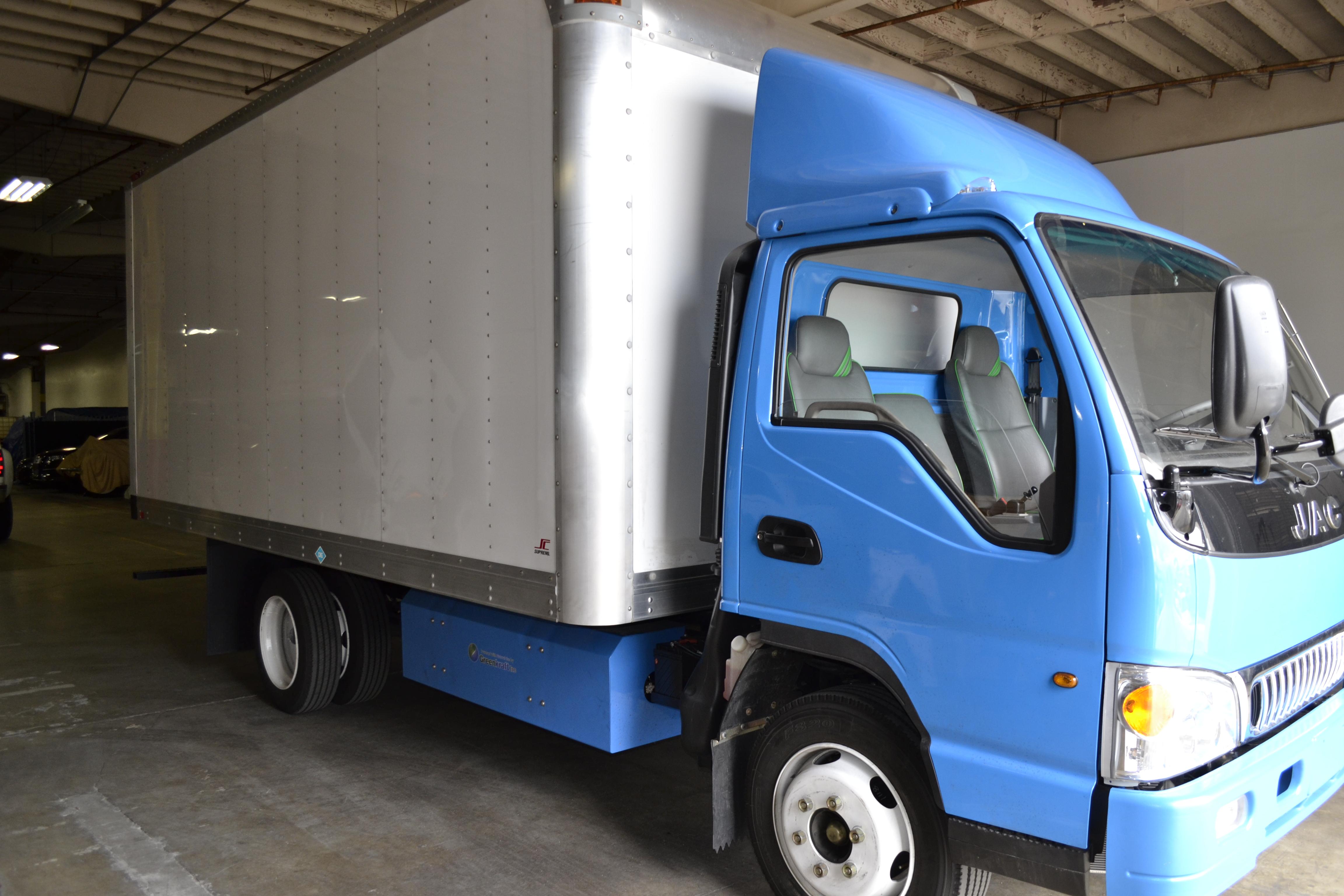 'Work Truck' Takes a Tour of Greenkraft Inc