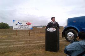 Peterbilt Montana Begins Construction on New Facility