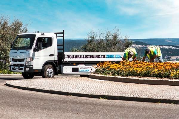 Fuso to Show All-Electric E-Cell Medium-Duty Truck