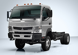 Mitsubishi Fuso Unveils new 2014 Canter Work Trucks at NTEA Truck Product Conference