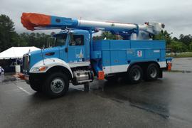 PG&E, Allison Transmission & Peterbilt Partner on Material Handler Truck