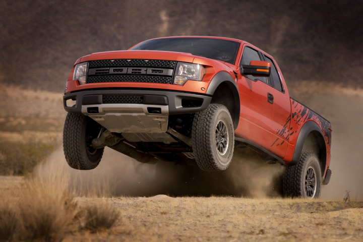 Powered by SVT Raptor, Ford F-150 Named 2009 'Truck of Texas