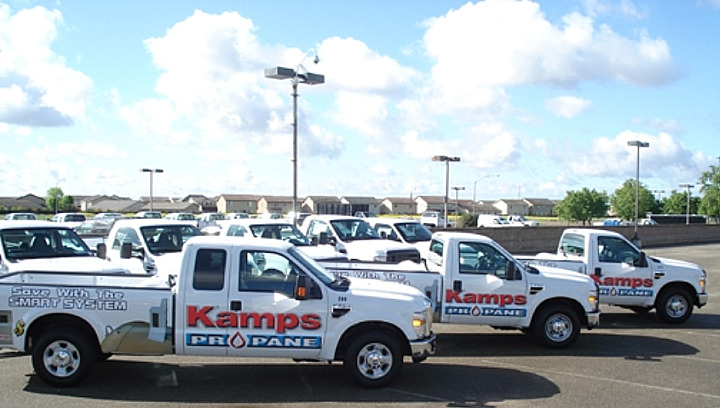 Kamps Propane Becomes Biggest California User of ROUSH Propane Trucks