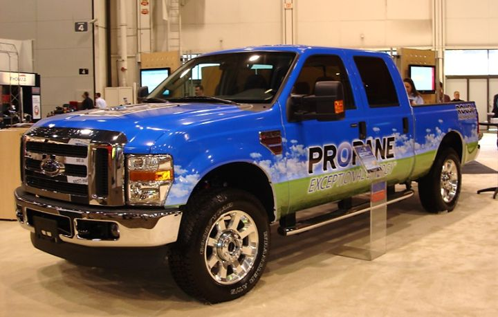 ROUSH Expands Propane Vehicle Lineup with Unveil of Liquid Propane Injected F-250 Pickup
