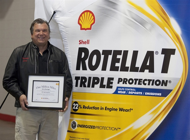 Shell Rotella Million Mile Haul of Fame Announced